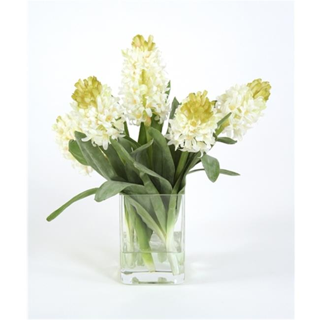 Distinctive Designs 16078 Waterlook Silk White Hyacinths ...