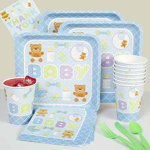 Blue Teddy Baby Kit N Kaboodle