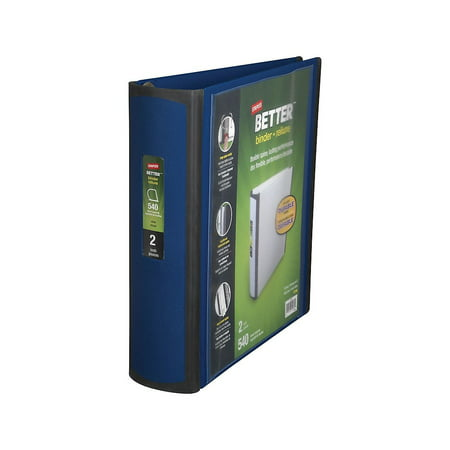 Staples Better 2-Inch D 3-Ring View Binder Blue (13398-CC) 648833 ()