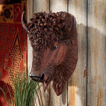 Wall Trophy (Design Toscano American Buffalo Wall)