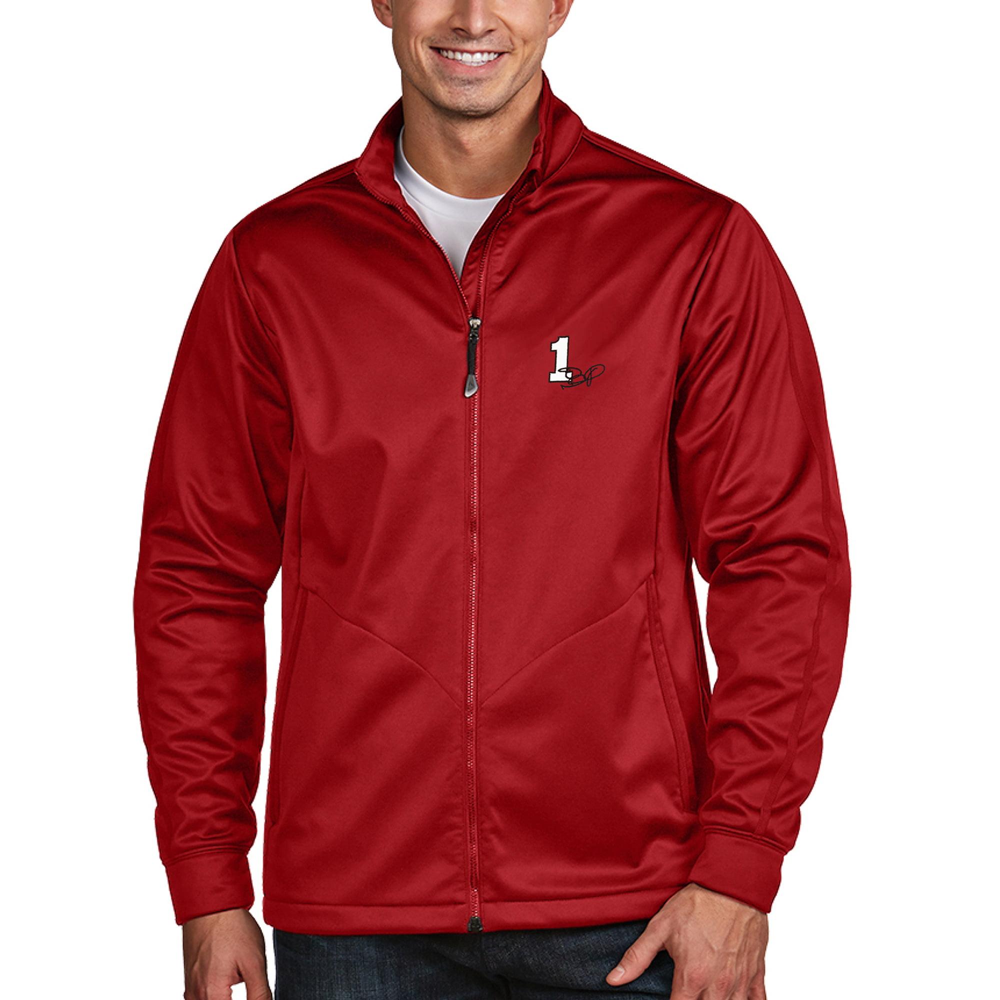 Jamie McMurray Antigua Golf Full-Zip Jacket - Red