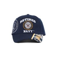 8ae552a221d Product Image United States Navy Retired Adjustable Hat w  Emblem Shadow