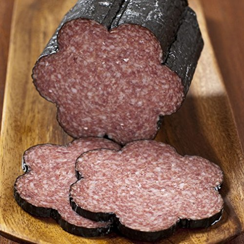 Black Kassel Old Forest Salami 1lb by HolanDeli. Includes Our Exclusive HolanDeli... by