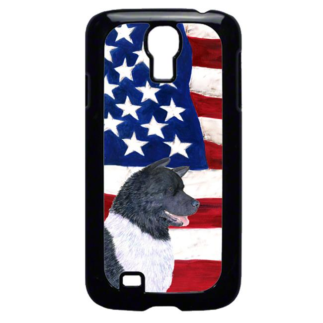 Carolines Treasures SS4005GALAXYS4 USA American Flag with Akita Cell Phone Cover GALAXY S4 - image 1 of 1