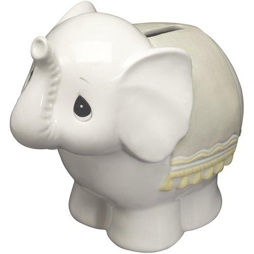 Precious Moments Elephant Bank Ceramic Figurine by Precious Moments
