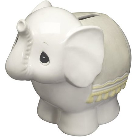 (Precious Moments  Elephant Bank  Ceramic Figurine)