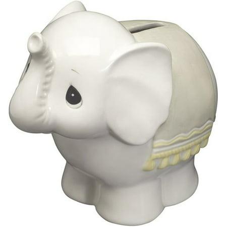 Precious Moments  Elephant Bank  Ceramic Figurine