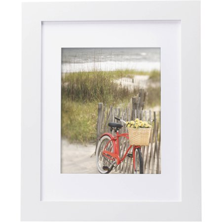 Mainstays Museum 11 X 14 Matted To 8 X 10 Picture Frame White