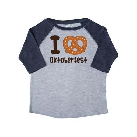 I Love Oktoberfest Toddler T-Shirt for $<!---->