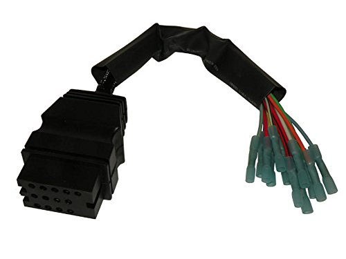 13-Pin Connector For Boss Snow Plows Vehicle Side by Buyers Products