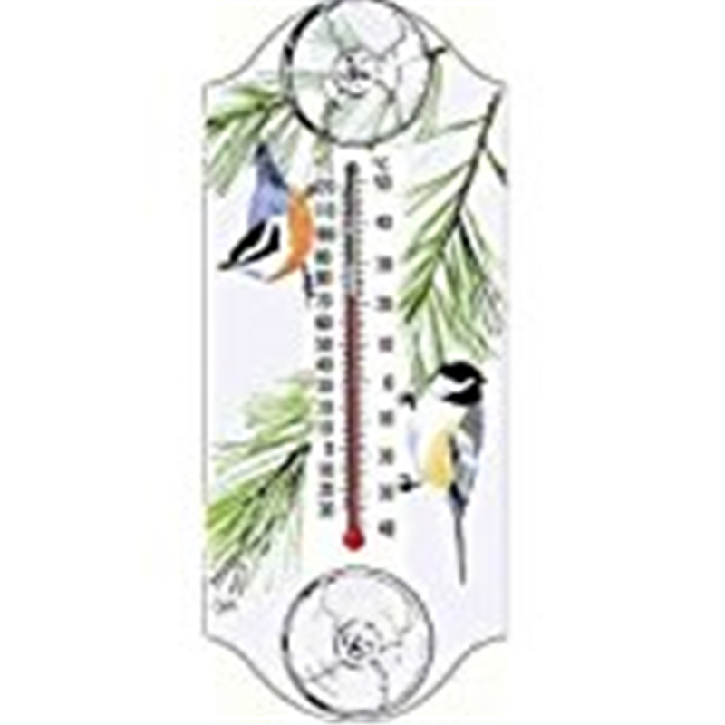 Aspects Chickadee/Nuthatch Window Thermometer
