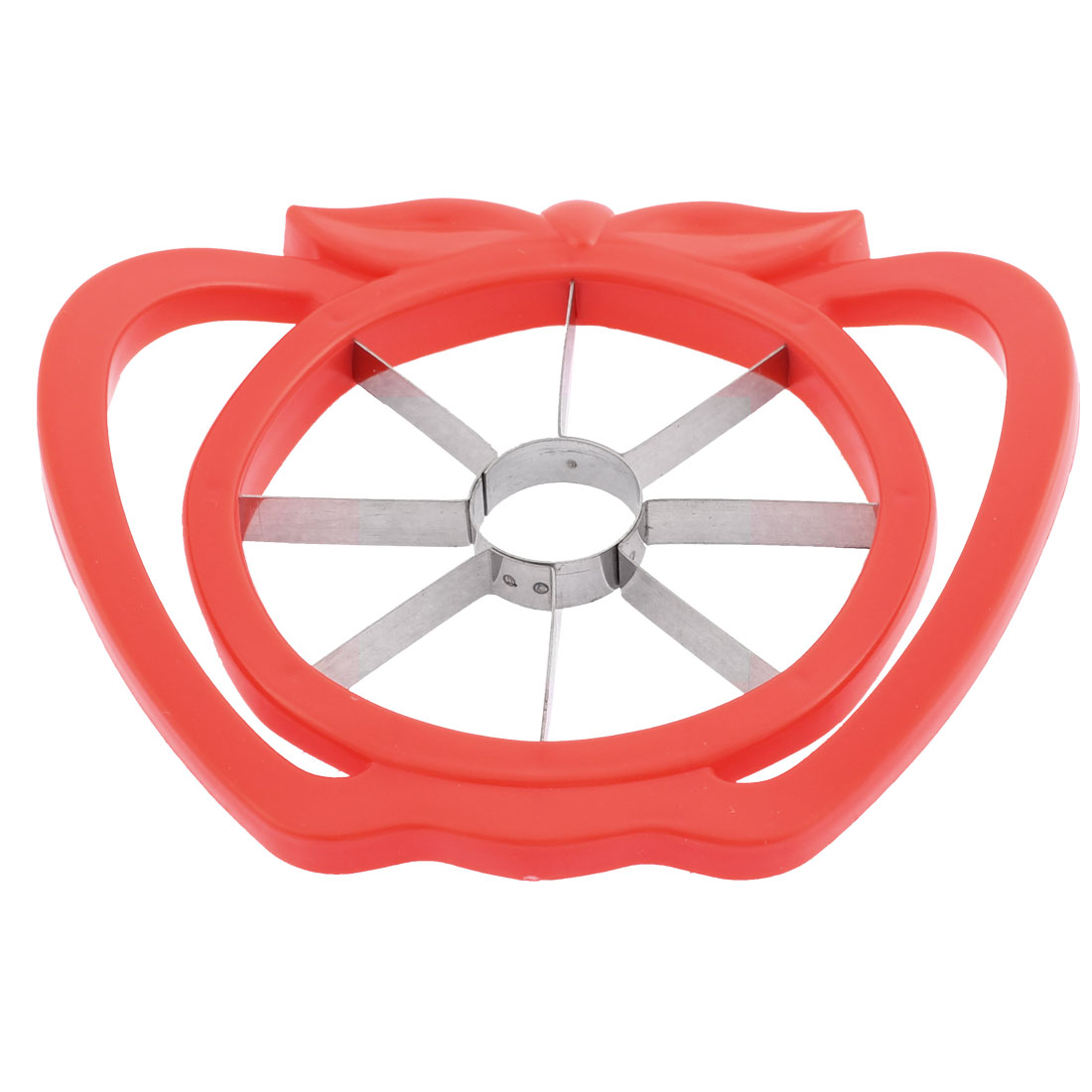 Home Handy Apple Pear Corer Slicer Cutter Fruit Peeler Divider Gadget Red