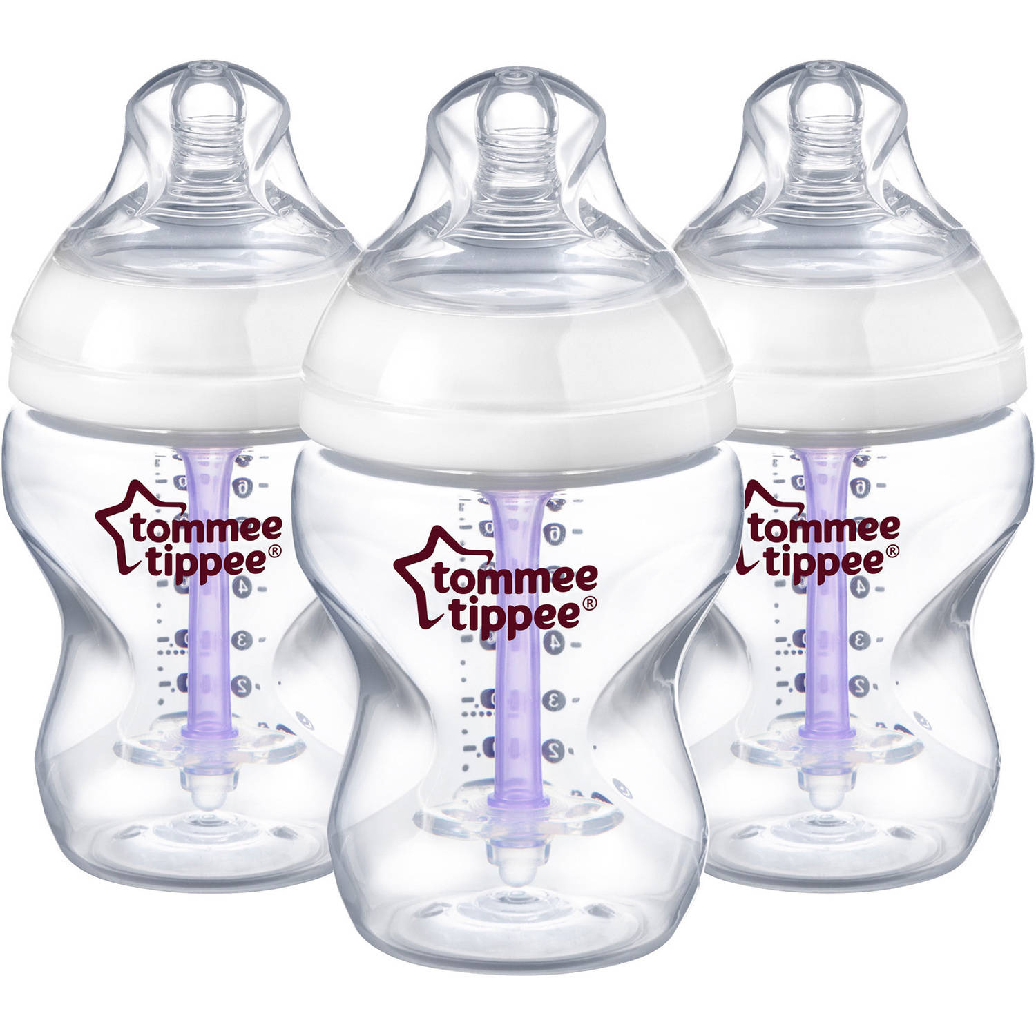 Tommee Tippee Anti-Colic Bottle, 9 oz, 3pk