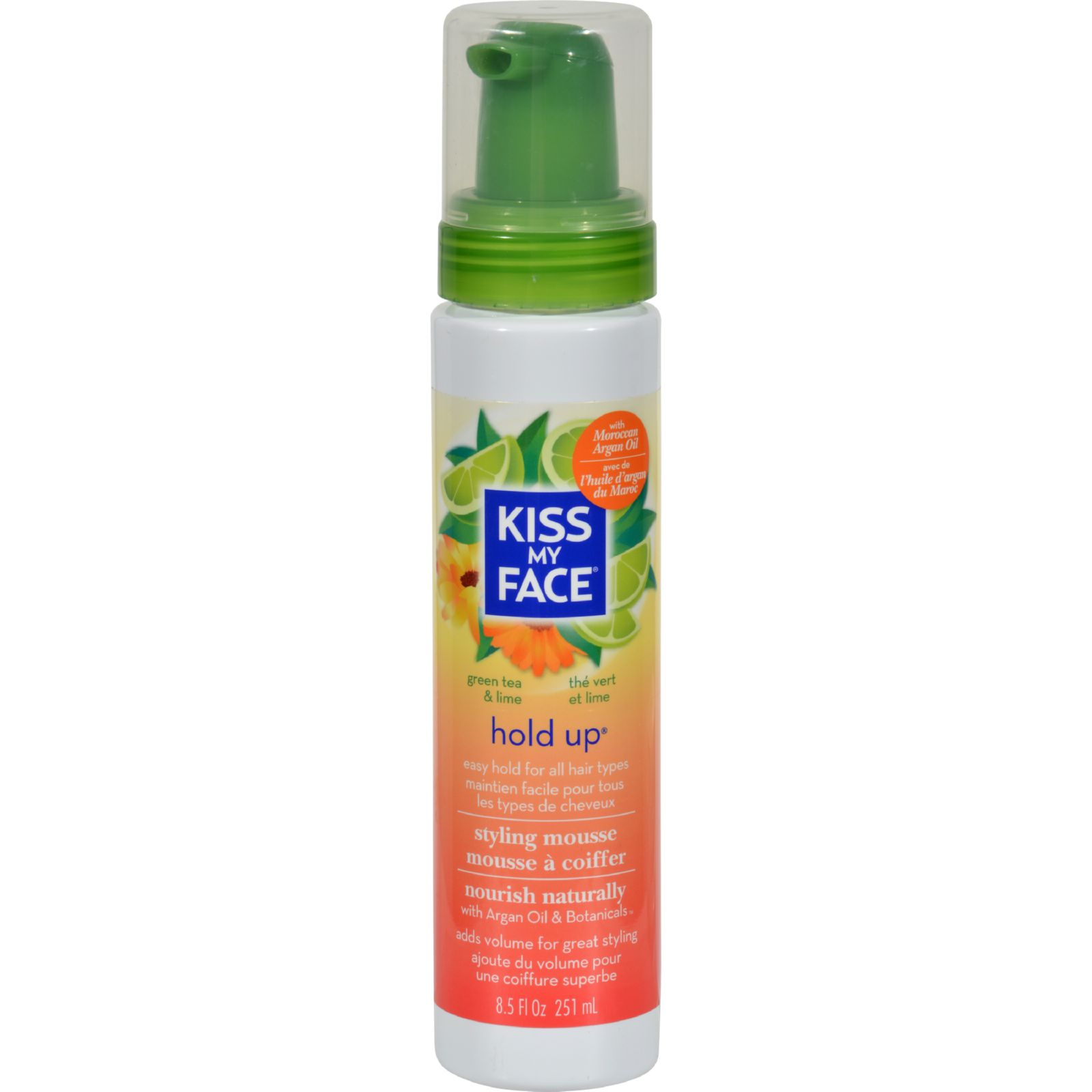 Kiss My Face Hold Up Easy Styling Mousse - 8.5 fl oz