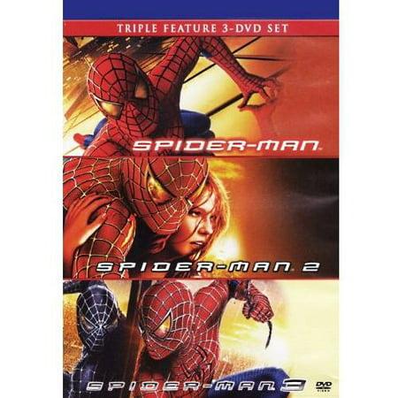 Spider Man   Spider Man 2   Spider Man 3  With Instawatch   Widescreen