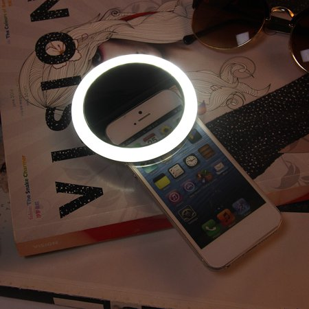 New Rech argeable Selfie LED Ring Camera Fill Light for iPhone for Android - Light Rings