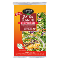 Salsa Ranch 12.45oz Bag Chpd Sld Kit