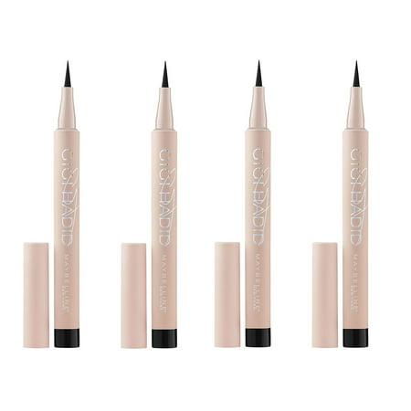 - Maybelline Gigi Hadid Liquid Eyeliner GG05 Black (Pack of 4) + Yes to Coconuts Moisturizing Single Use Mask
