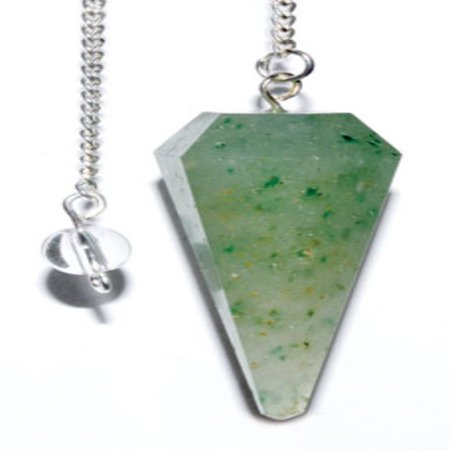 6-sided Green Aventurine pendulum (Green Man Pendulum)