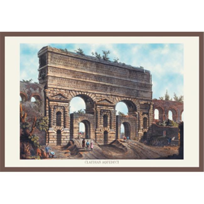Buy Enlarge 0-587-15841-7P12x18 Claudian Aqueduct- Paper Size P12x18