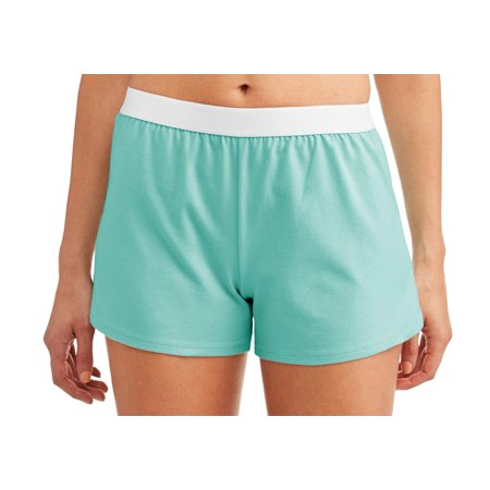75cb5f690e6 Athletic Works - Women s Core Active Dolphin Hem Knit Shorts With Elastic  Waistband - Walmart.com