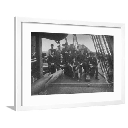 'The Members of the Expedition, after their Return to Christiania', c1893-1896, (1897) Framed Print Wall (Art To Frames Returns)