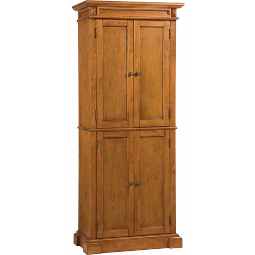 walmart kitchen pantry cabinet home styles pantry distressed oak walmart 28138