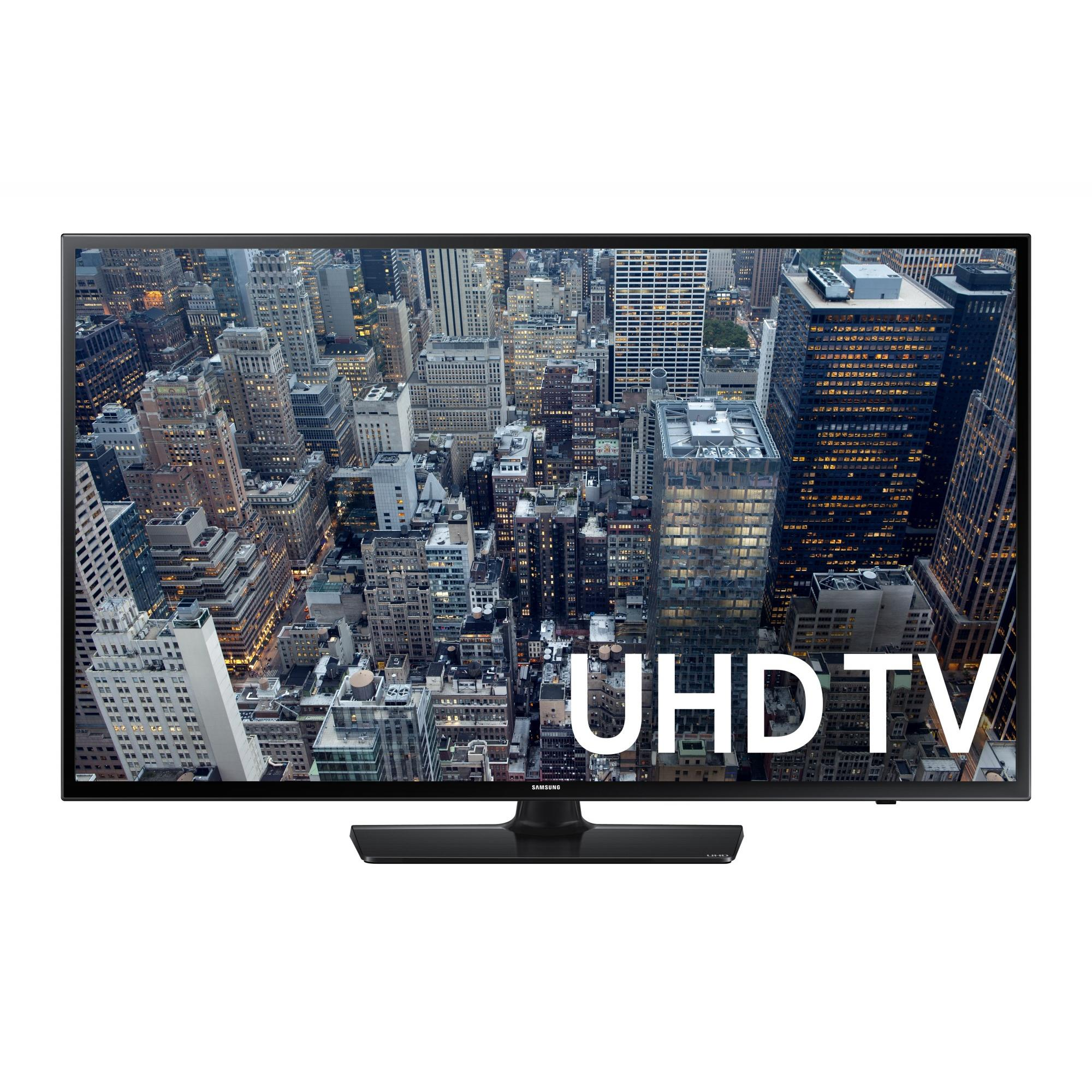"SAMSUNG 48"" 6400 Series - 4K Ultra HD Smart LED TV - 2160p, 120MR (Model#: UN48JU6400)"