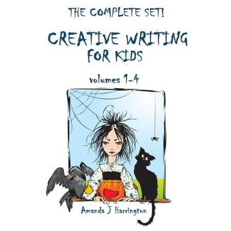Creative Writing for Kids Volumes 1-4 - Halloween Creative Writing Activities High School