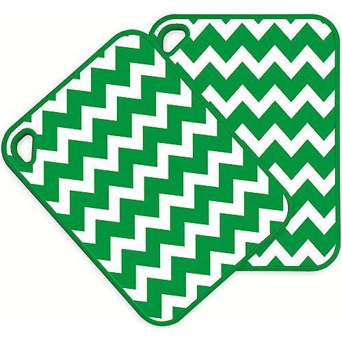 In Kitchen Chevron Design Cutting Boards, Set of 2