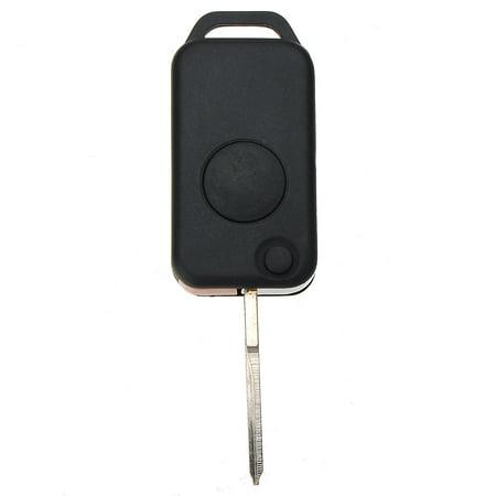 1 Button Uncut Blade Key Shell Case Fob For Hidden W168 W124 W202 1984-2004 US - image 1 de 6