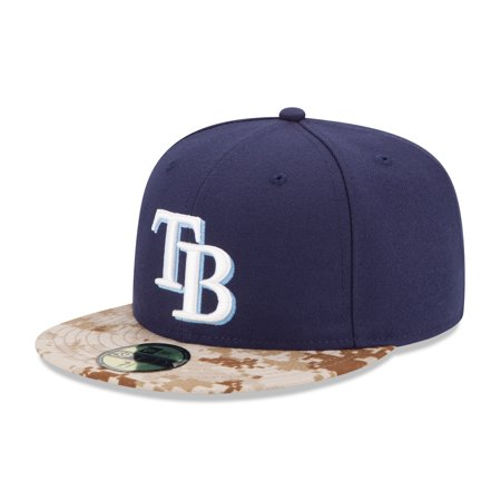 Tampa Bay Rays New Era 2015 Memorial Day On-Field 59FIFTY Fitted Hat -