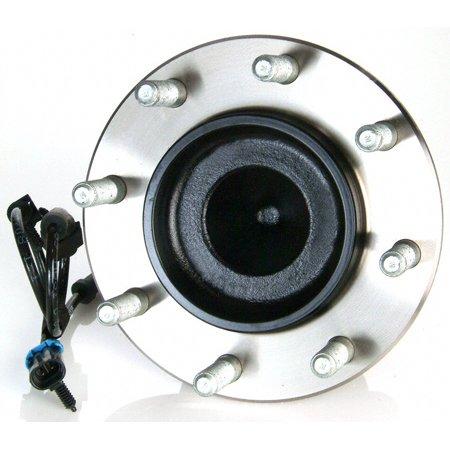 Moog Hub Assemblies 515060 Wheel Bearing and Hub Assembly  OE Replacement; With 180 Millimeter Anti Lock Brake (ABS) Sensor - image 1 de 1