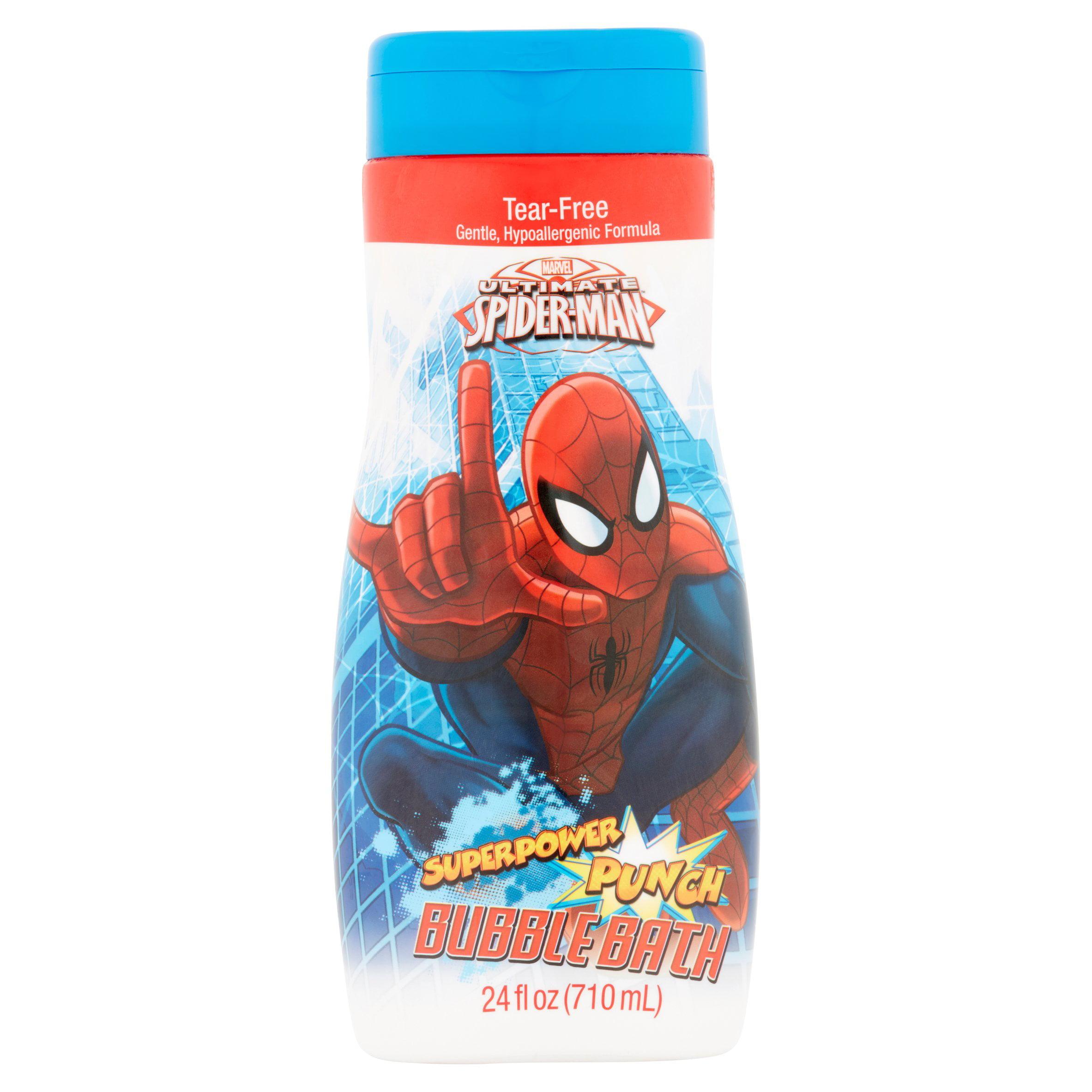 Marvel Ultimate Spider-Man Superpower Punch Bubble Bath, 24 fl oz