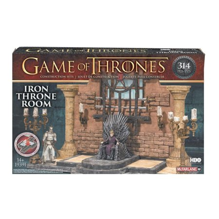 McFarlane Toys Game of Thrones Iron Throne Room Construction Set (Construction Set Toys)