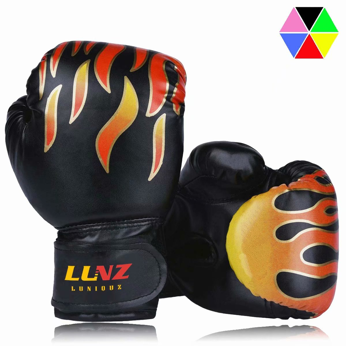 Kickboxing MMA Kids Boxing Gloves Muay Thai Boxing Gloves for Children 5-12 Youth Boys Girls Toddler PU Cartoon Sparring Training Boxing Gloves for Punching Bag