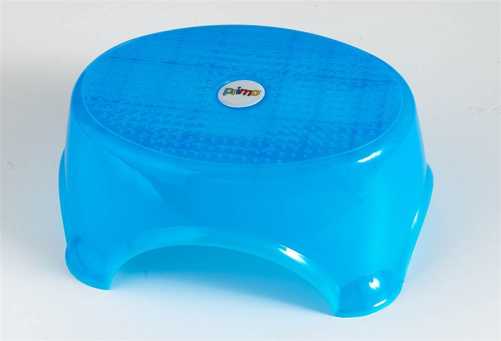 Freedom Textured Step Stool in Blue by Jersey Plastic Molders