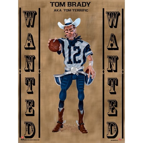 b086a89c23558 Wanted Tom Brady Poster