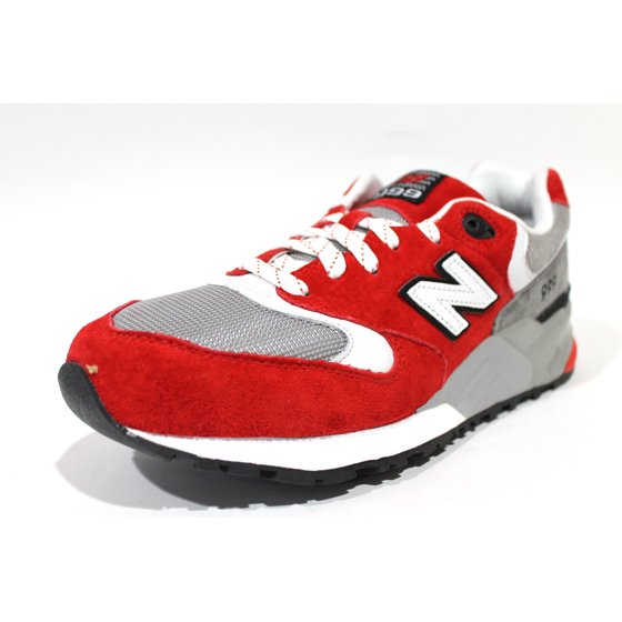 054a7607485b2 New Balance - New Balance Men's 999 Red/Gray Sneakers ML999SBG ...
