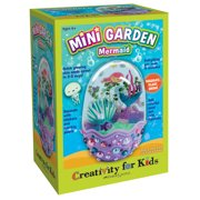 Creativity for Kids Mini Garden Mermaid Art & Craft Kit (6 Pieces)
