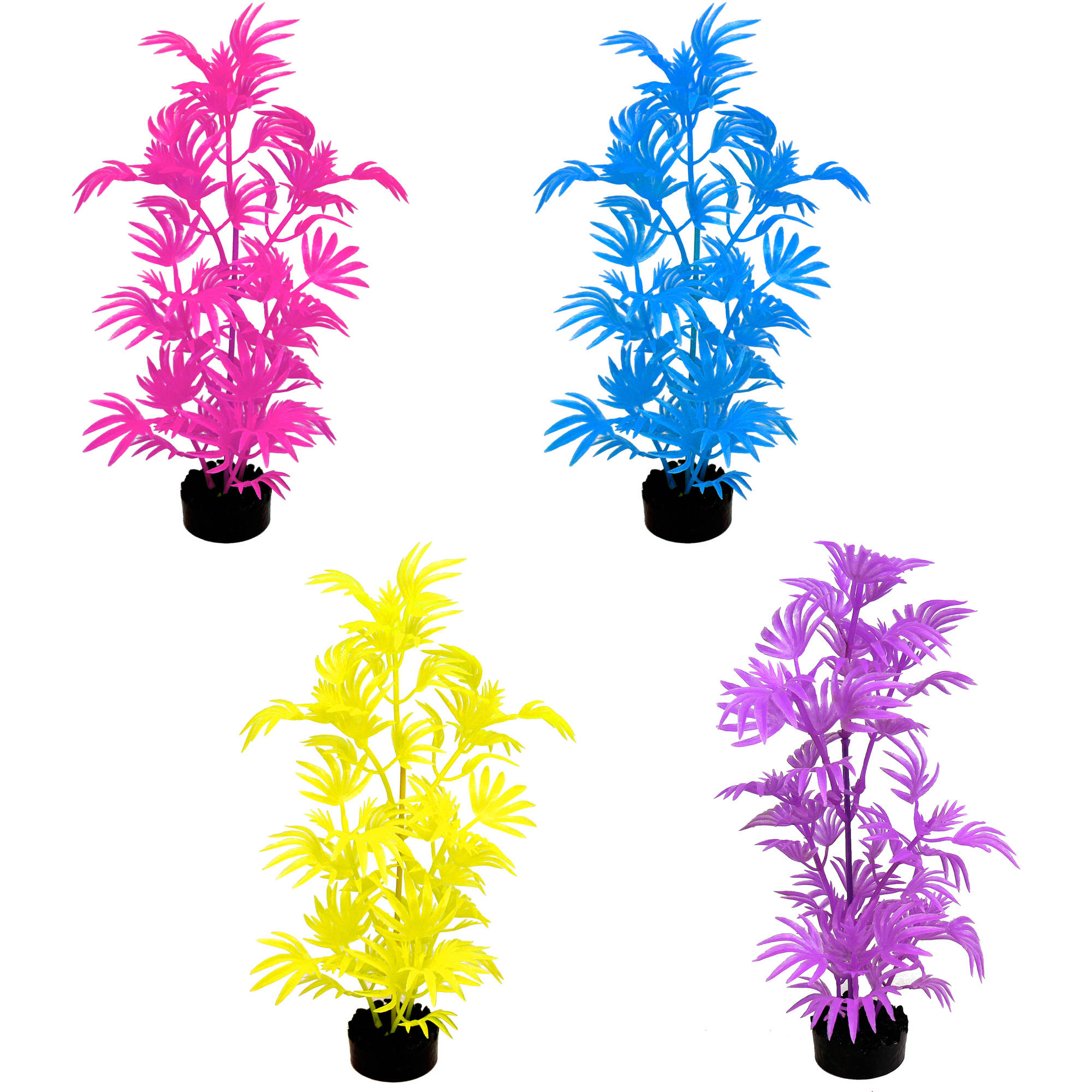 Aqua Culture Wild Flower Aquarium Plant by blue ribbon pet products inc