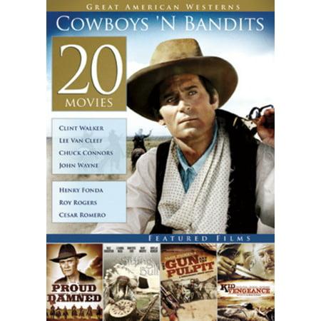 20-Film Great American Westerns: Cowboys 'N Bandits (Vans Of Great Bridge)