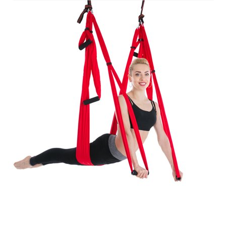 d04c1b5bdd Zimtown Parachute Flying Yoga Pilates Aerial Hammock Swing Trapeze Anti- Gravity for Gym Inversion Fitness - Walmart.com