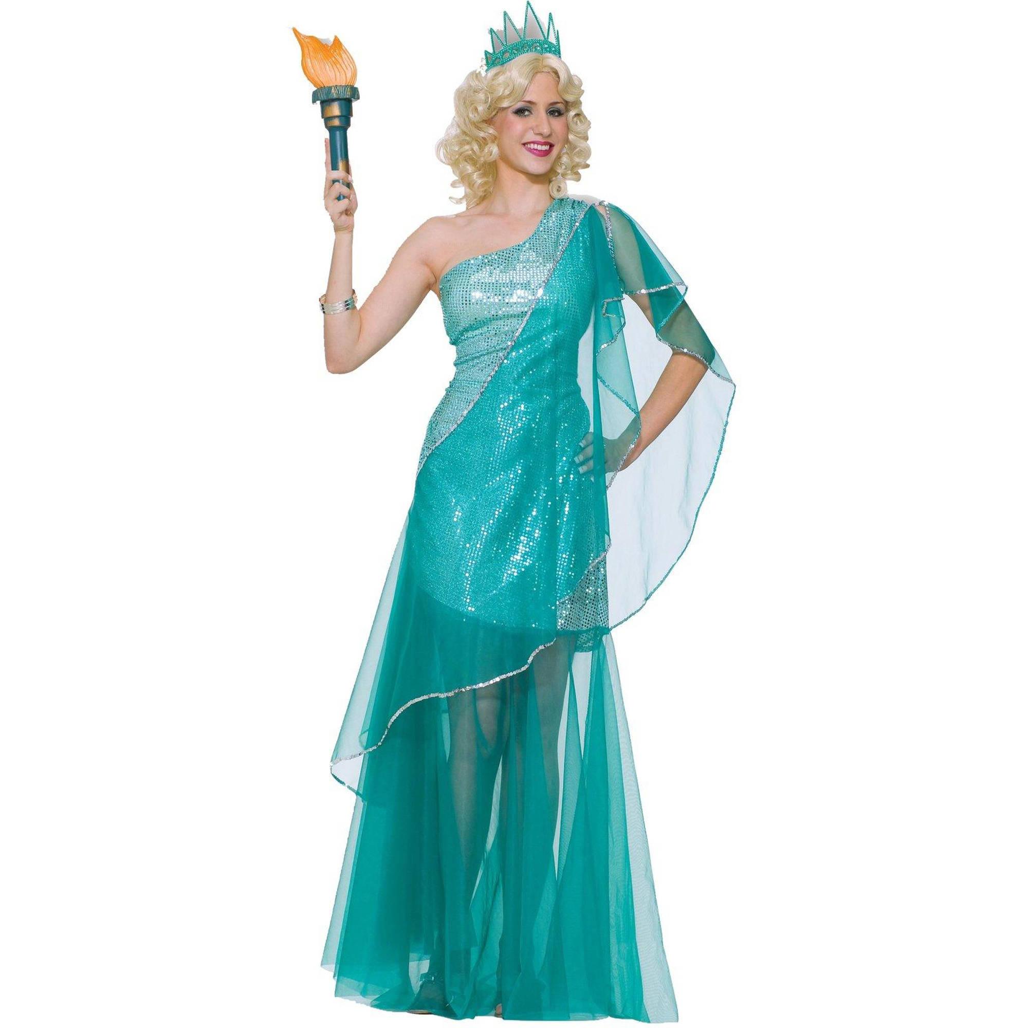 Sassy Miss Liberty Women's Adult Halloween Costume, 1 Size