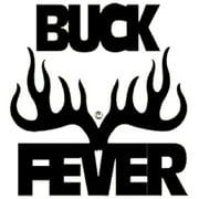 Western Recreation Buck Fever Decal 6X6