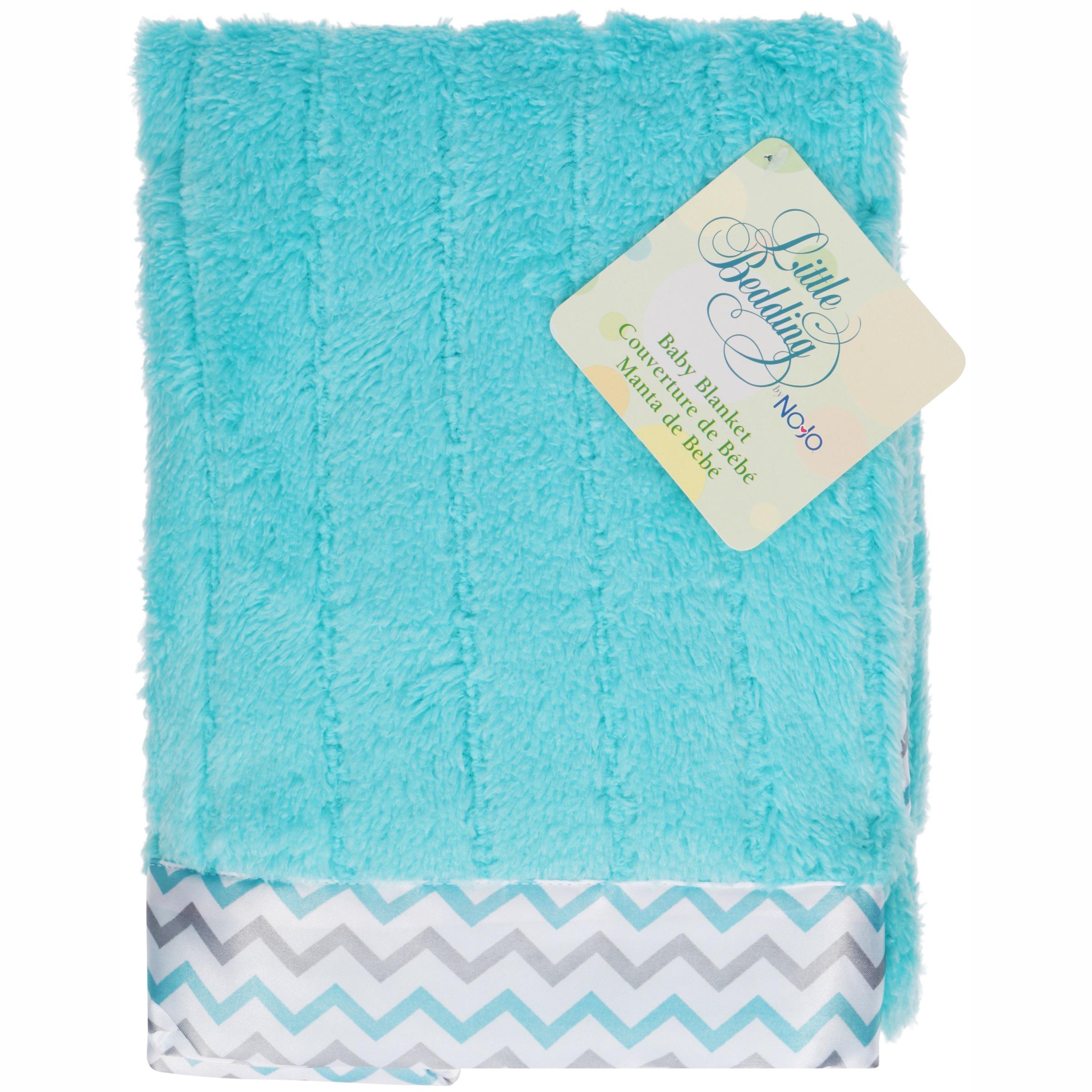 Little Bedding by Nojo® Dreamy Plush Uni Baby Blanket