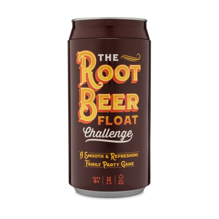The Root Beer Float Challenge Game - A Smooth & Refreshing Family Party Game