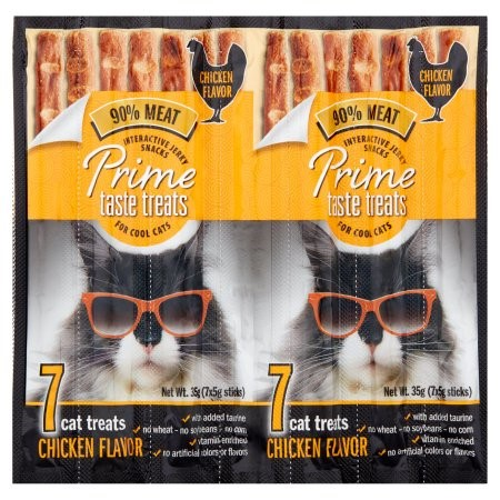 Prime Taste Treats Chicken Flavor Cat Treats