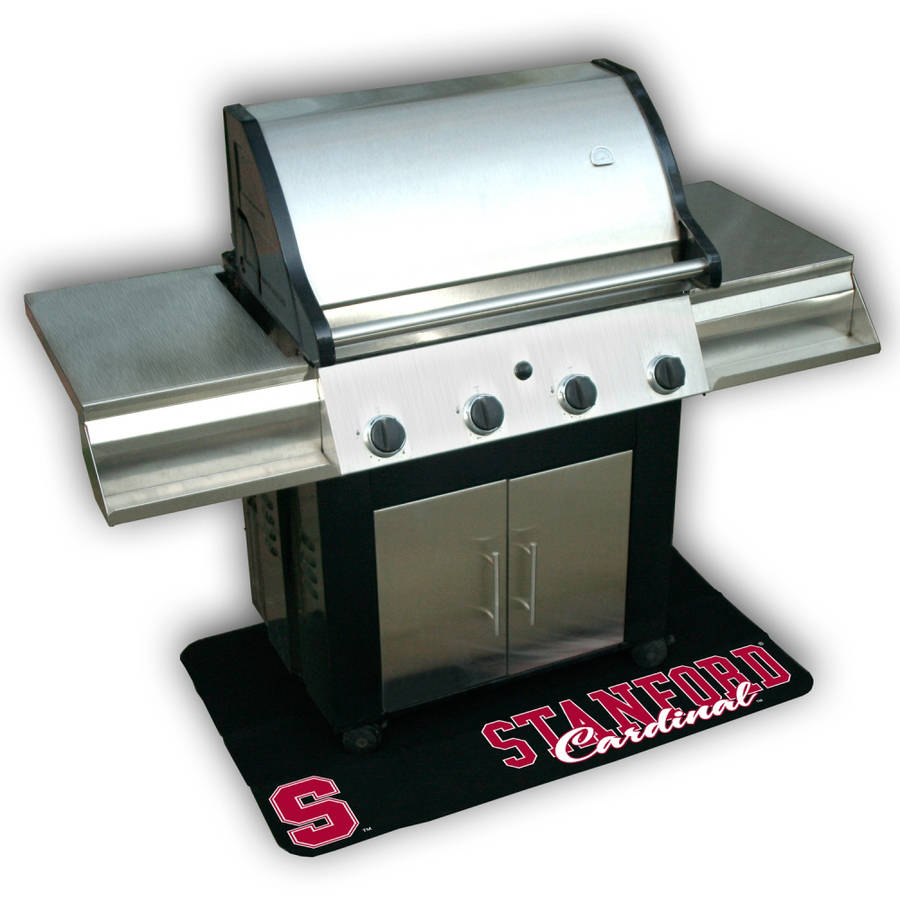 Mr. Bar-B-Q NCAA Protective Grill Mat, Stanford University Cardinals