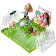 Barbie Dreamhouse Adventures 6-Inch Chelsea Doll With Soccer Playset And Accessories